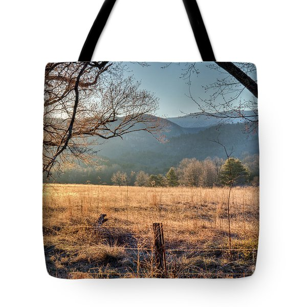 Tote Bag featuring the photograph Cades Cove, Spring 2017 by Douglas Stucky