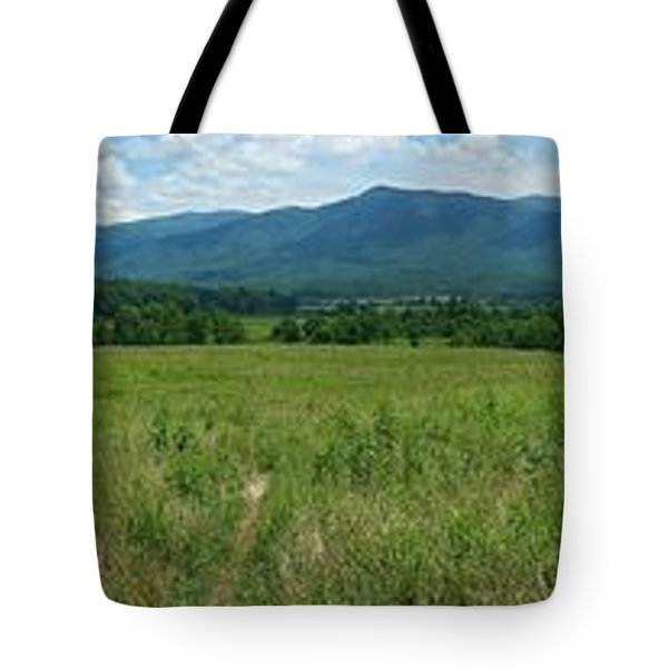 Tote Bag featuring the photograph Cades Valley by Geraldine DeBoer