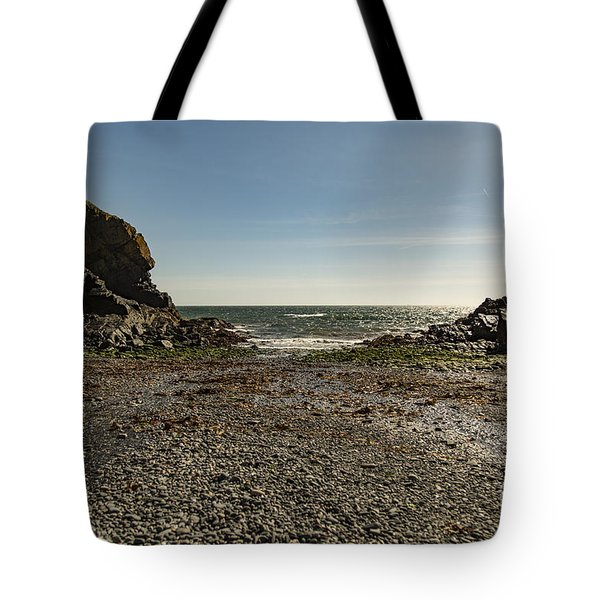 Tote Bag featuring the photograph Cadgwith Cove Beach by Brian Roscorla