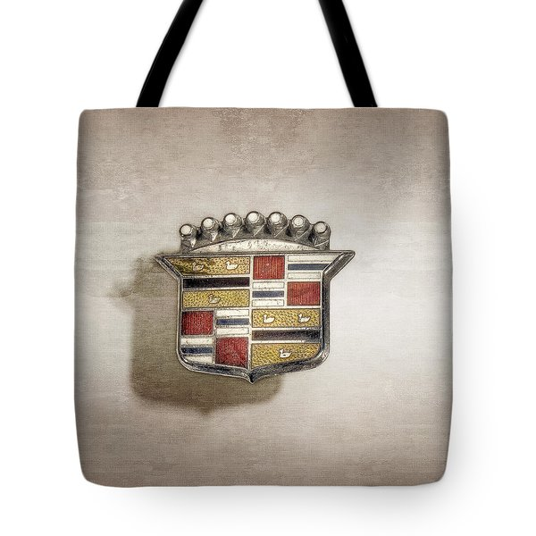 Cadillac Badge Tote Bag