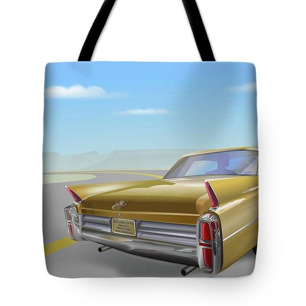 Cadillac De Ville Tote Bag