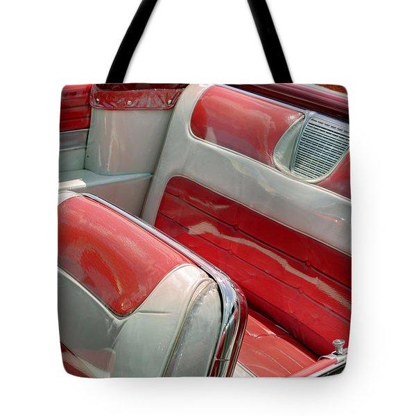 Cadillac El Dorado 1958 Seats. Miami Tote Bag