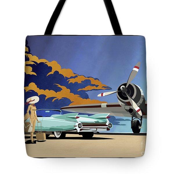 Cadillac Eldorado 1959 Tote Bag