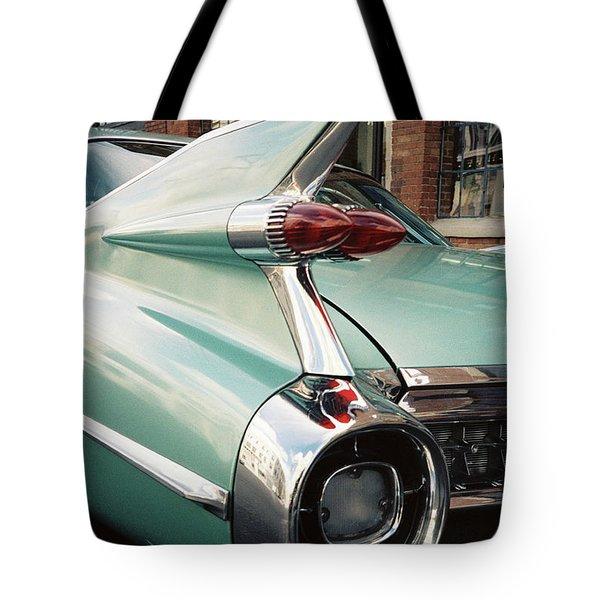 Cadillac Fins Tote Bag