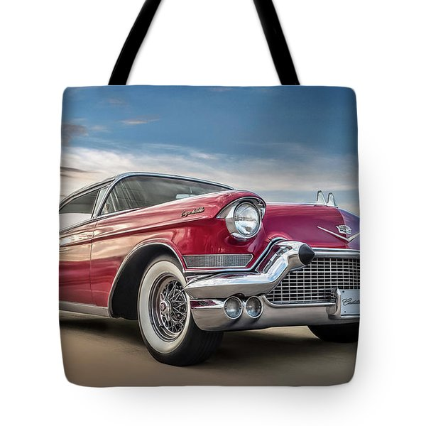 Tote Bag featuring the digital art Cadillac Jack by Douglas Pittman