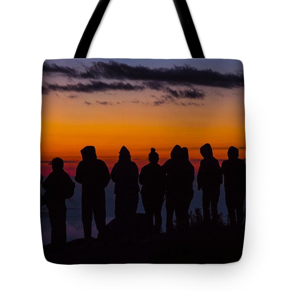 Cadillac Mountain Sunset.  Tote Bag