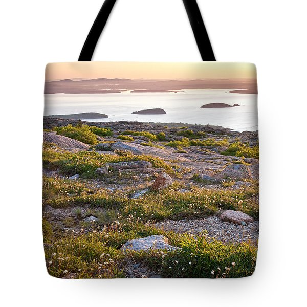 Cadillac Mountain View Tote Bag