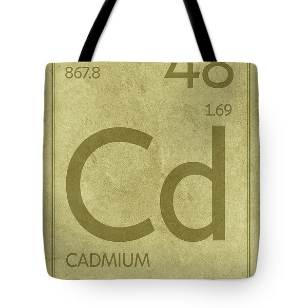 Atomic Number Tote Bags Fine Art America