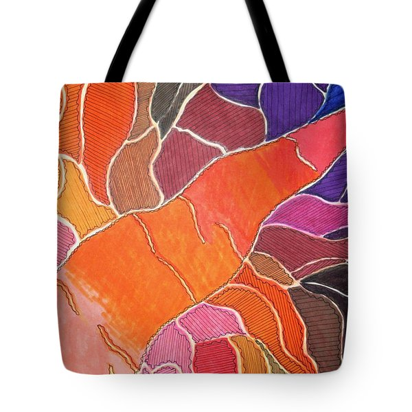 Cadmium Road Tote Bag