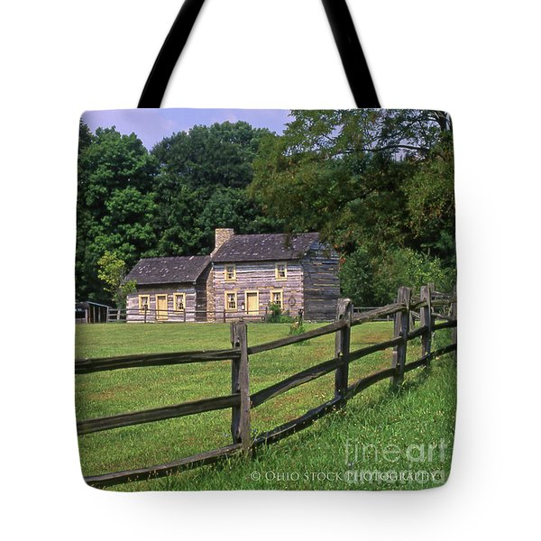 1e140 Caesar Creek Pioneer Village Photo Tote Bag