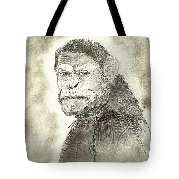 Caesar Tote Bag by Nicole Burrell