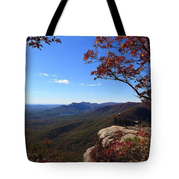 Caesars Head State Park In Upstate South Carolina Tote Bag