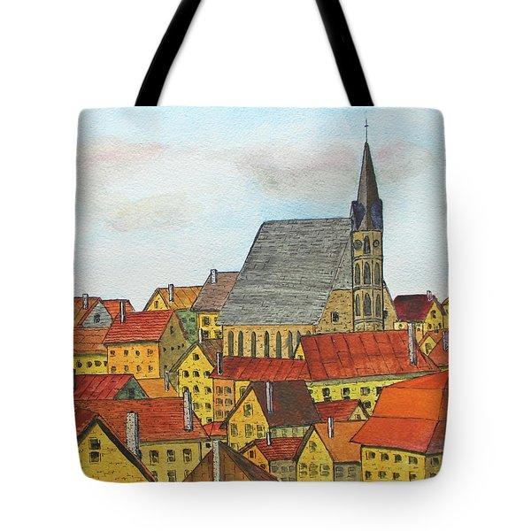 Cesky Krumlov Tote Bag