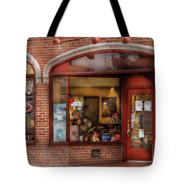 Cafe - Westfield Nj - Tutti Baci Cafe Tote Bag by Mike Savad