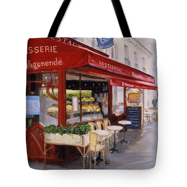 Cafe 4 Tote Bag by Jay Johnson