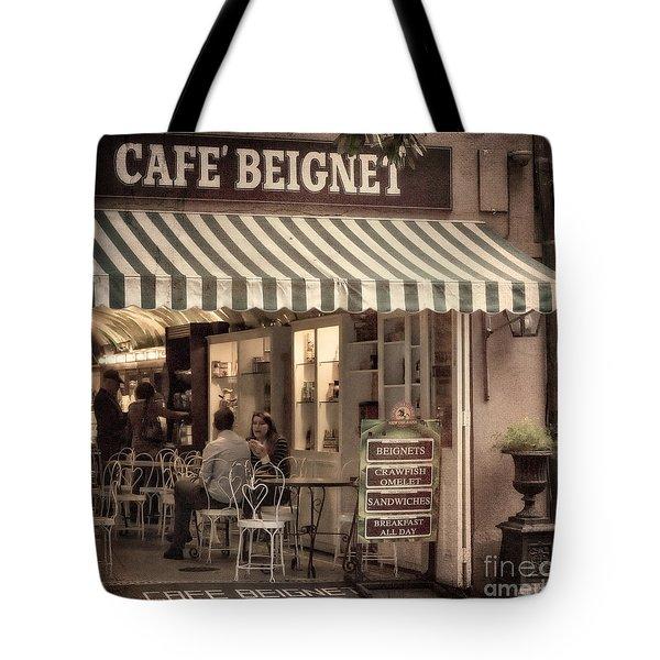 Cafe Beignet 2 Tote Bag