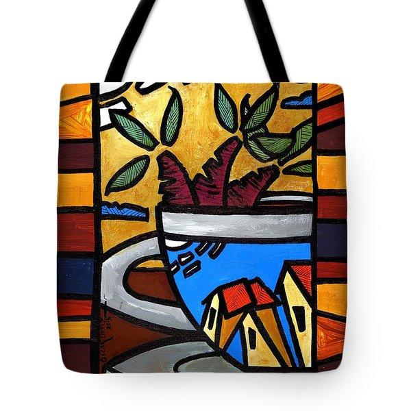 Cafe Caribe  Tote Bag
