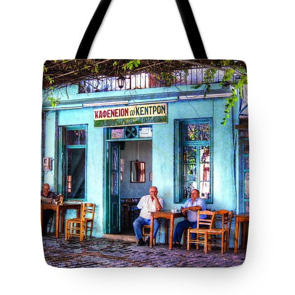 Cafe Central Tote Bag