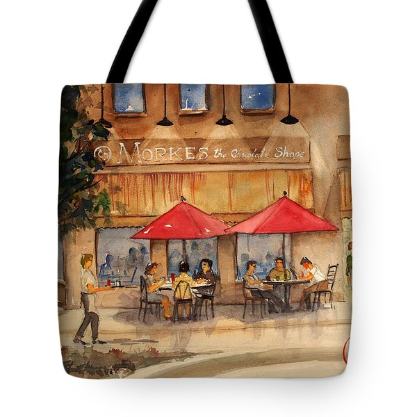 Cafe Chocolate Tote Bag