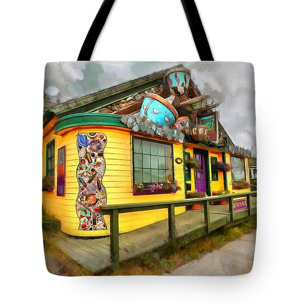 Cafe Cups Tote Bag