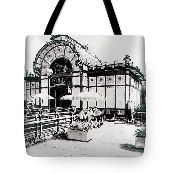 Cafe De Carl Tote Bag
