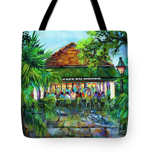 Cafe Du Monde Morning Tote Bag