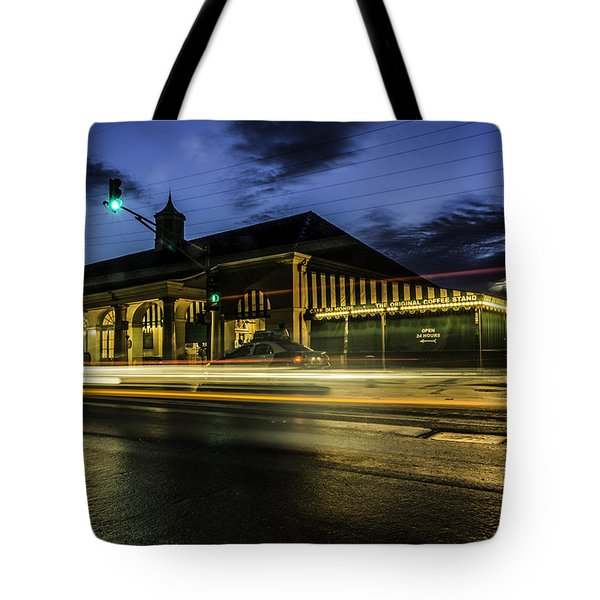 Cafe Du Monde, New Orleans, Louisiana Tote Bag