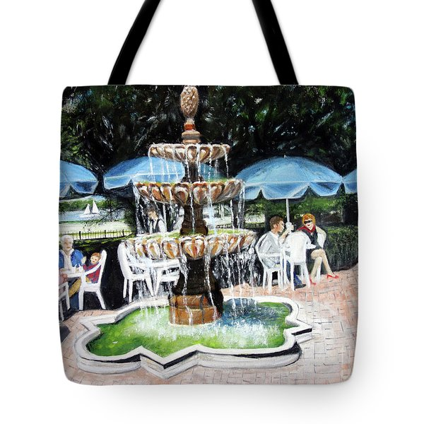 Cafe Gallery Tote Bag