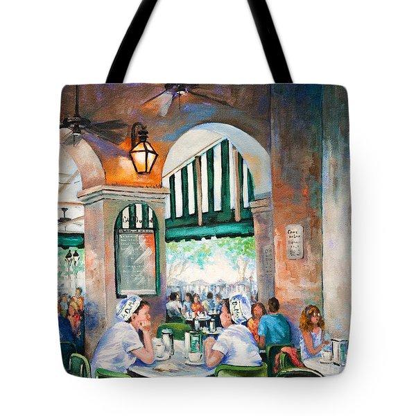 Cafe Girls Tote Bag