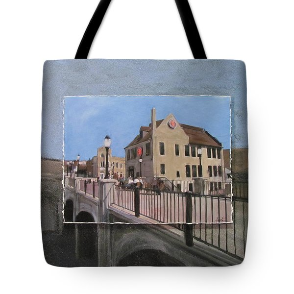 Cafe Hollander 2 Layered Tote Bag