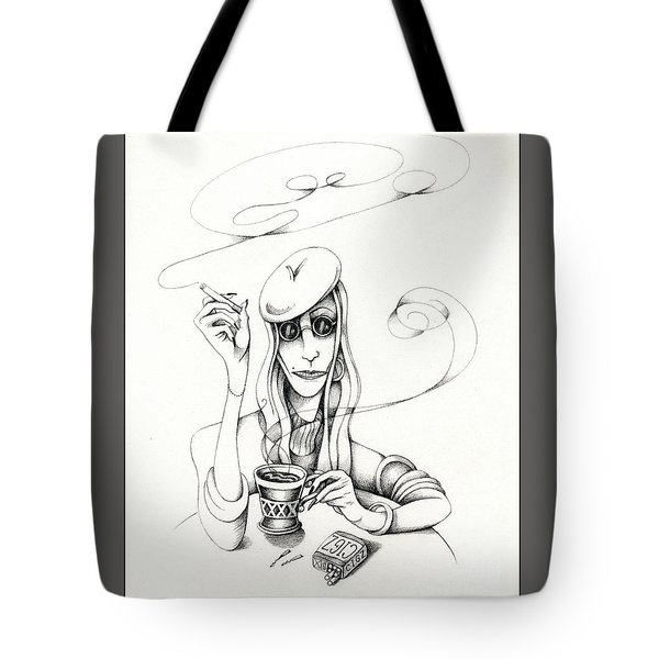 Cafe Lady Tote Bag