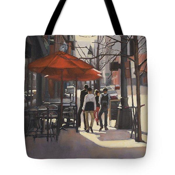 Cafe Lodo Tote Bag