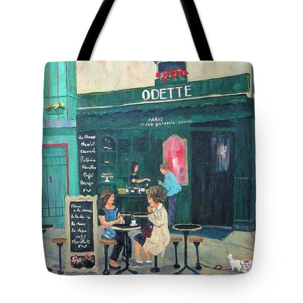 Cafe Odette Tote Bag