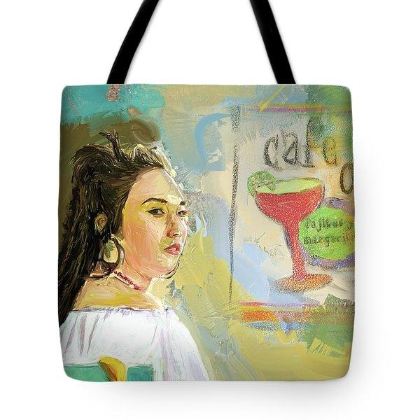 Cafe Ole Girl Tote Bag