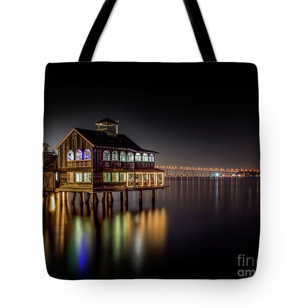 Cafe On The Port Tote Bag