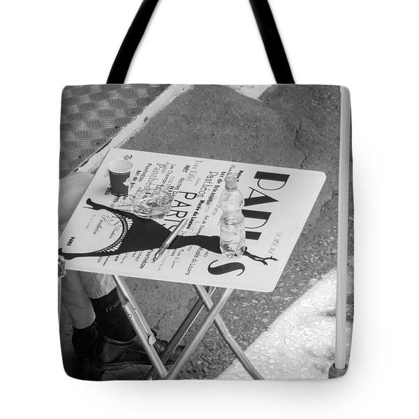 Cafe Paris - Local Street Cafe In Sofia Tote Bag