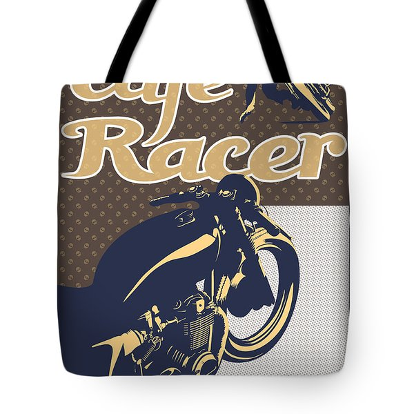 Cafe Racer Tote Bag