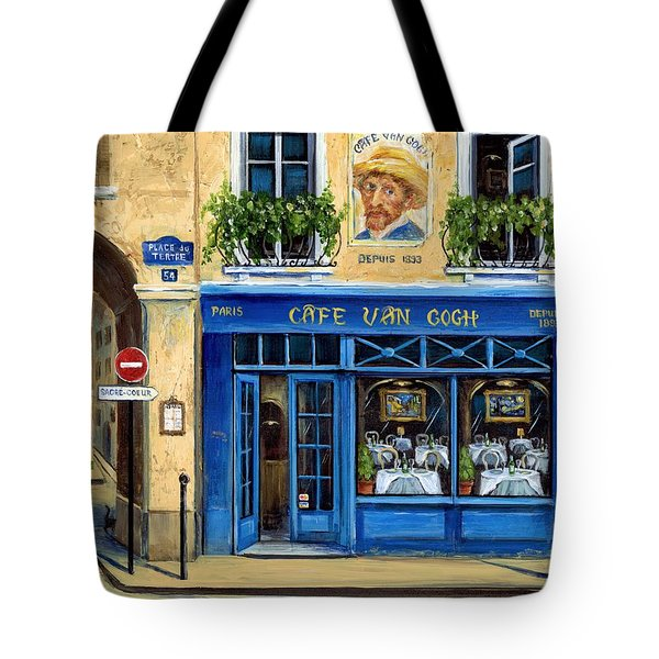 Cafe Van Gogh II Tote Bag by Marilyn Dunlap