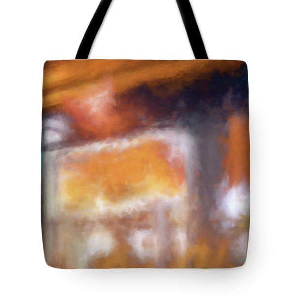 Cafe Window Tote Bag