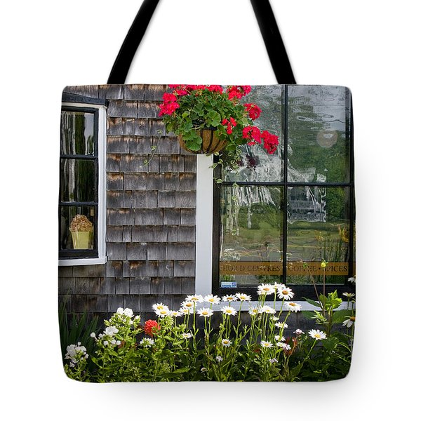 Cafe Windows Tote Bag