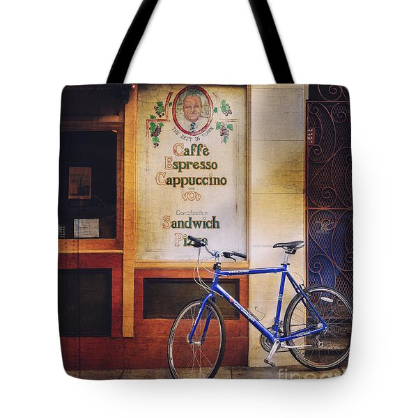 Caffe Expresso Bicycle Tote Bag