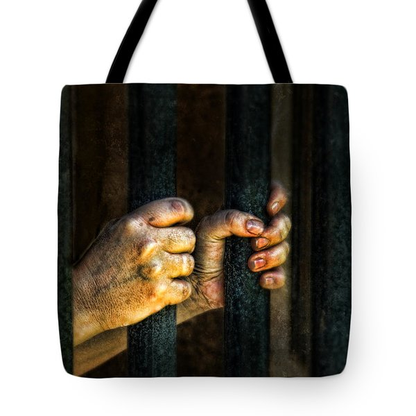 Caged 2 Tote Bag by Jill Battaglia