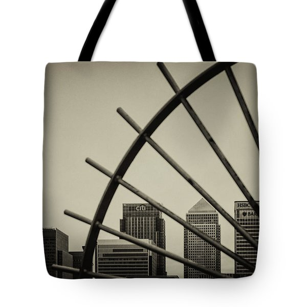 Caged Canary Tote Bag