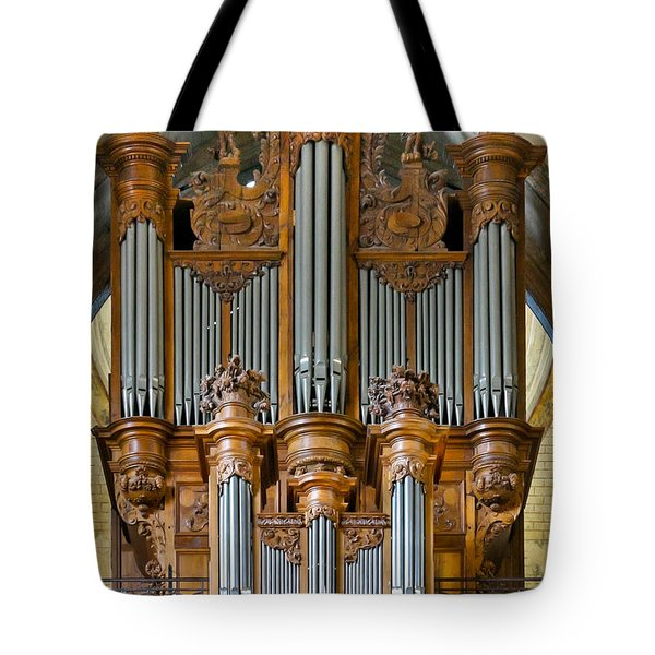 Cahors Cathedral Organ Tote Bag