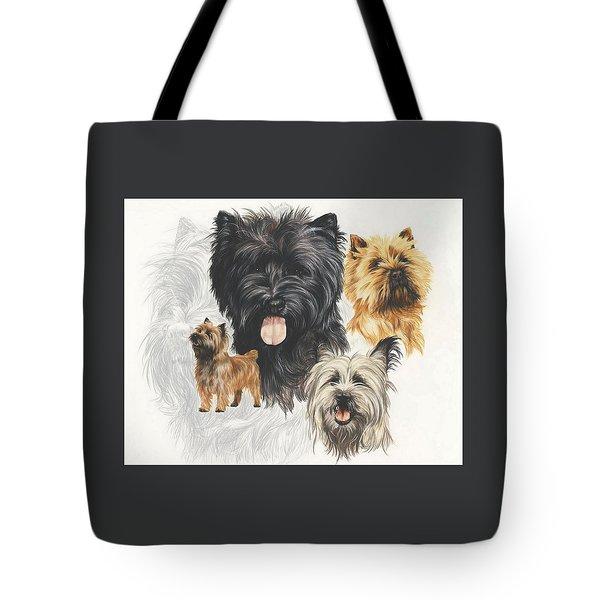 Cairn Terrier Revamp Tote Bag