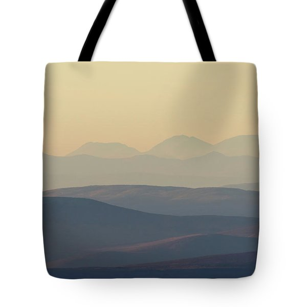 Cairngorms Sunset Tote Bag