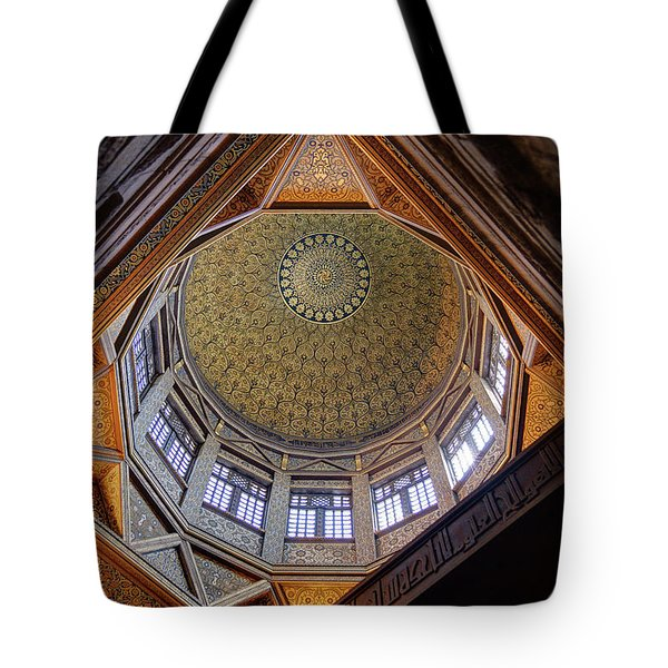 Cairo Nilometer Tote Bag by Nigel Fletcher-Jones