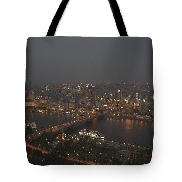 Cairo Smog Tote Bag by Darcy Michaelchuk