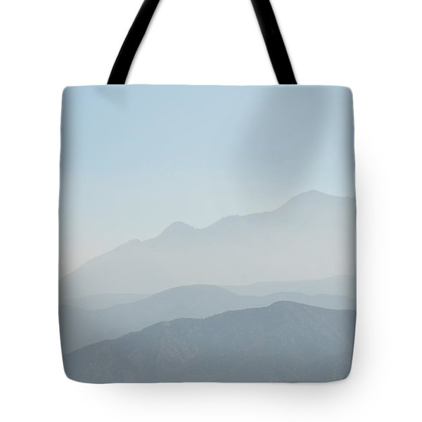 Cajon Pass Haze Tote Bag