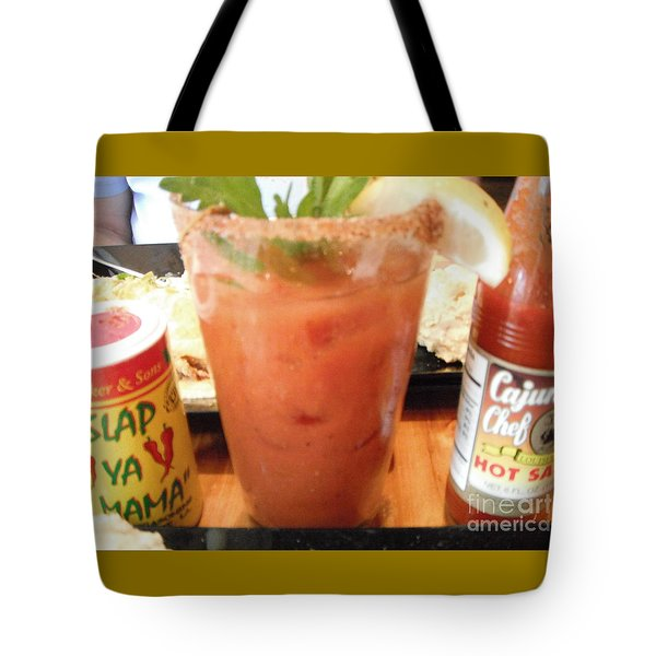 Cajun Mama Mary Tote Bag